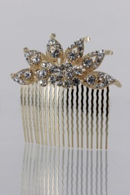 CMS58 Half Sun Wedding Hair Comb