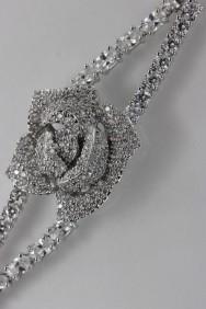 CZ-B204 (PRE-ORDER) Rose CZ Bracelet