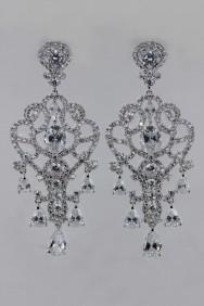 CZ-E317 (PRE-ORDER) Lux Wedding CZ Stud Earring