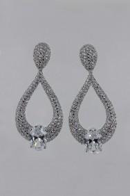 CZ-E318 (PRE-ORDER) Elegance Bridal CZ Stud Earring