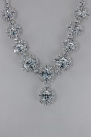CZ-N211 (PRE-ORDER) Oval CZ Necklace