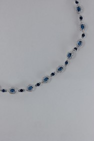 CZ-N222 (PRE-ORDER) Traditional CZ Necklace