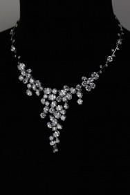 CZ-N225 (PRE-ORDER) Lux Bridal CZ Necklace