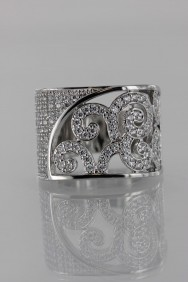 CZ-RS213 (PRE-ORDER) Lux Print CZ Size Ring