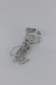 CZ-RS216 (PRE-ORDER) Dangling CZ Size Ring