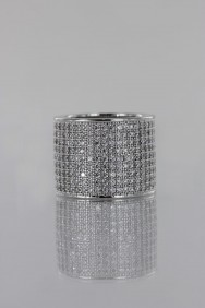 CZ-RS219 (PRE-ORDER) Pavement Lux CZ Size Ring
