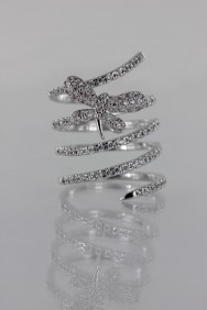 CZ-RS221 (PRE-ORDER) Modern Look CZ Size Ring
