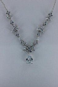 CZ-N205 Noble birth Cubic Zirconia Necklace