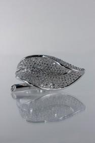 CZ-RA309 head designer butterfly CZ Ring