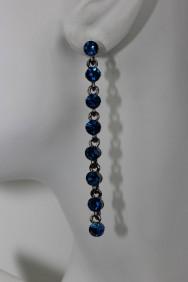 ER54 1 Line stone stud earring