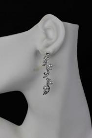 ER64 Wavy Pearl Earring