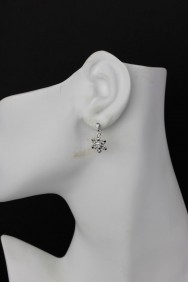 ER68 Snowflake II Small Stud Earring