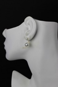 ER70 Silver Post Stud Earring