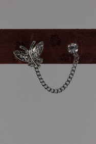 ER72 Mini Mini Butterfly Stud Earring