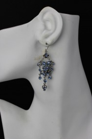 ER77 Limited Butterfly Dangling Red Carpet Hook Earring