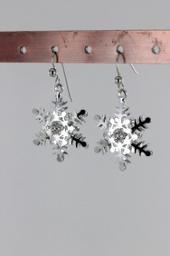 ER79 Limited Snow Flake Hook Earring