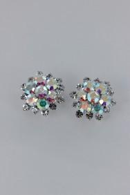 ERC1 Flower clip-on earring