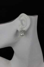 ERC3 10mm pearl clipon earring