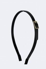 H58 Leather belt headband