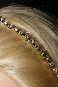 H82 Comb rhinestone headband
