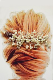 ICO2021-21 Handmade wedding hair comb