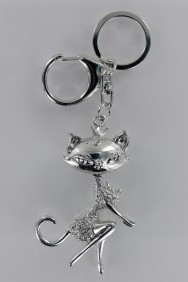 KC01 Limited Sexy Cat Three Dimensional Keychain