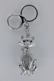 KC03 Limited Happy 3D Cat Keychain