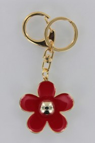 KC06 Limited Trendy Flower Keychain