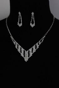 10459-6 simple v necklace set