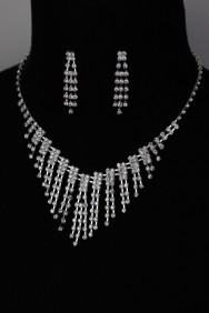 N10525-6 Bridal necklace set