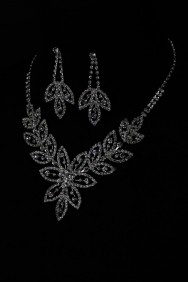 N10640-6 Flower necklace set