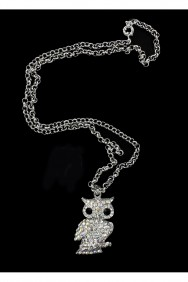 N19-912 Night Owl Necklace