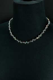 NM2 zig zag bridal necklace jewelry