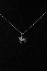 NPM15 Unicorn Pendant Necklace