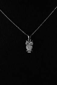 NPM16 Owl Pendant Necklace