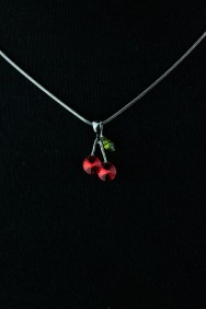 NPM17 Cherry Pendant Necklace