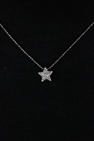 NPM19 Two side Star Pendant