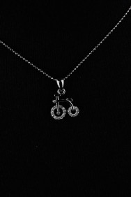 NPM27 Bicycle Small Pendant