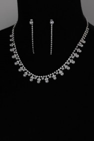 NS20 6mm pearl necklace set