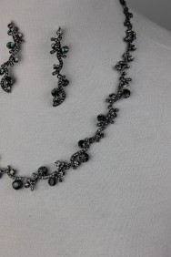 NS22 Wave Swarovski Necklace Set