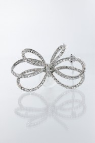 P38 double ribbon hair pin