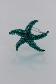 P54 Starfish Pavement Hair Barrette Pin