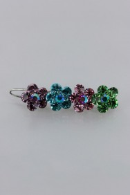 P57 Big Flower Hair Barrette Pin