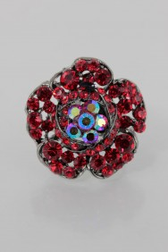 RMA13 Flower Adjustable Ring