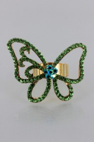RMA8 Fantastic Butterfly Adjustable Ring