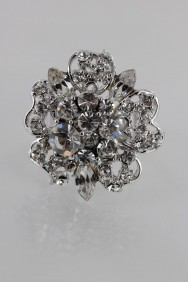 RMA9 Flower Adjustable Ring