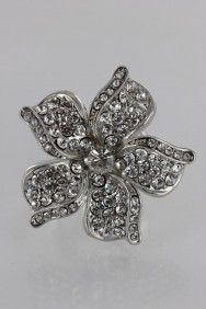RMA15 Limited Adjustable Hawaian Flower Ring