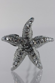S76 Small starfish hair stick (set of 6)