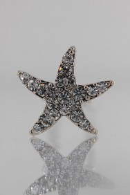 S82 Small Starfish Hair Pins (set of 20)