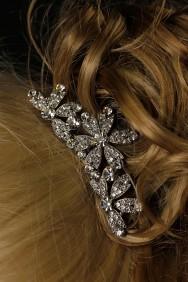 TLP4 Swarovski Crystal Flower Tiara